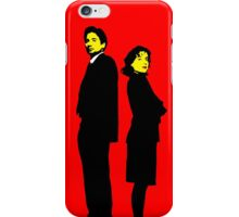 X files Scully and Mulder iPhone Case/Skin