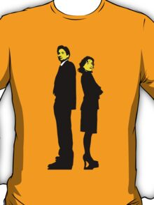 X files Scully and Mulder T-Shirt