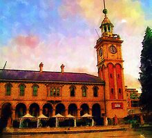 The Clocktower - Customs House by reflector