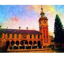 The Clocktower - Customs House Photographic Print