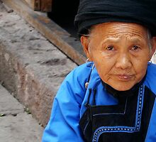 Miao JIa Old Woman by Amelie Yu
