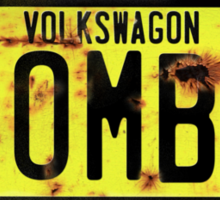 Volkswagen Kombi Plate Sticker