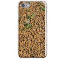 Orange Gravel iPhone Case/Skin