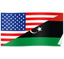 usa libya Poster