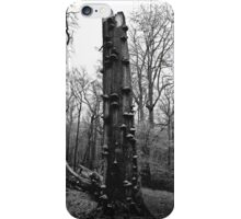 An Ache In My Head (mono) iPhone Case/Skin