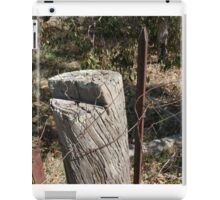 Fence Post iPad Case/Skin