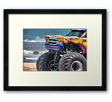 Samson on the Beach Framed Print