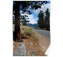 Rocky Mountain Highway To Serenity Poster