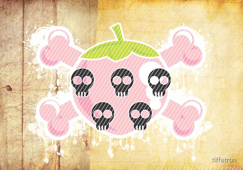 ♥ [ Strawberry Pirate Kisses ] ♥ by Tiffany Atkin