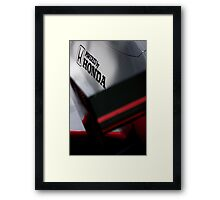 McLaren MP4/5 Engine Cover Framed Print