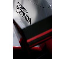 McLaren MP4/5 Engine Cover Photographic Print