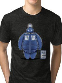 BIG TARDIS 6 Tri-blend T-Shirt