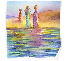 Water carriers Poster