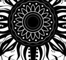 Boho sun tattoo Sticker