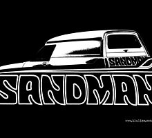 Holden Sandman Panel Van © by BlulimeMerch
