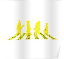 Wizard of Oz in Abbey Road Poster