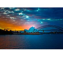 The Sydney Three - Sydney Harbour, Bridge and Opera House, Australia  Photographic Print