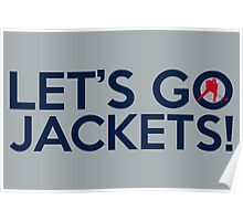 Let's Go Jackets! Poster