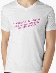 77 Barbie Friends Mens V-Neck T-Shirt