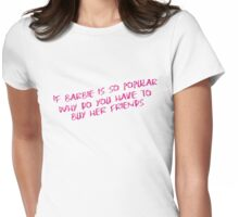 77 Barbie Friends Womens Fitted T-Shirt