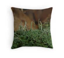 Things That Grow But Are Seldom Seen Throw Pillow