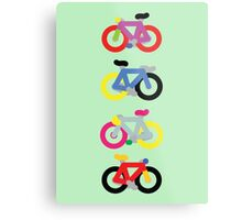 Fatty Fixie by Jeppe K Ringsted Metal Print