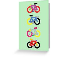 Fatty Fixie by Jeppe K Ringsted Greeting Card