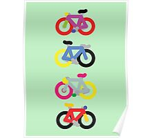 Fatty Fixie by Jeppe K Ringsted Poster