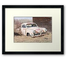 Hidden Treasure - 1953 Studebaker Coupe Framed Print