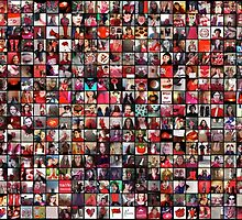 #WalkInRed2015 Large Collage by alannarwhitney