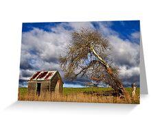 Rustic Rural Tasmania Greeting Card