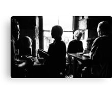Lunchtime Conversations Canvas Print