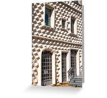 casa dos bicos Greeting Card