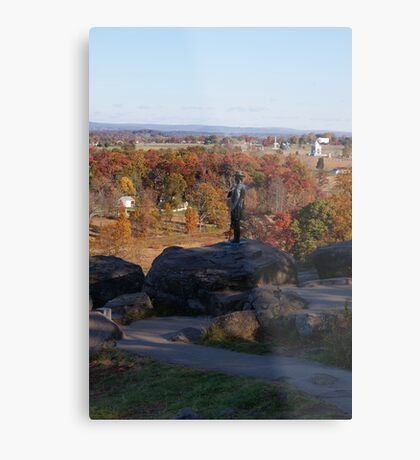 Scout Reports Metal Print