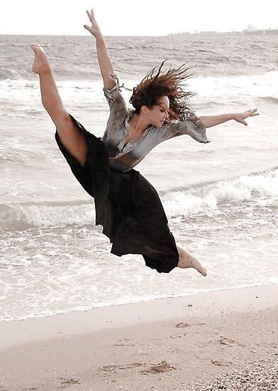 Dancer - Tilt Leap by John Englezos