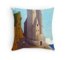baby castle Throw Pillow