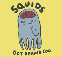 squids got brains too T-Shirt