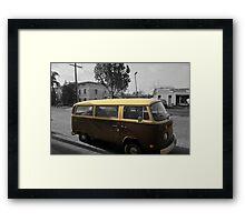 VW Bus Framed Print