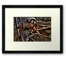 Looking for Work Framed Print