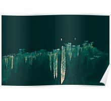 WDVT - 0005 - Floating City Skyline Poster