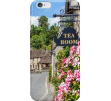 Tea Rooms, Castle Coombe, Wiltshire iPhone Case/Skin