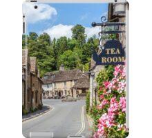 Tea Rooms, Castle Coombe, Wiltshire iPad Case/Skin