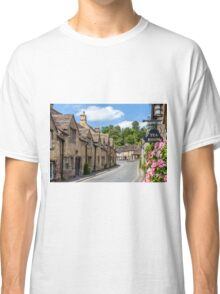 Tea Rooms, Castle Coombe, Wiltshire Classic T-Shirt