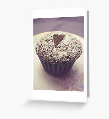 I heart cupcakes Greeting Card