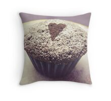 I heart cupcakes Throw Pillow