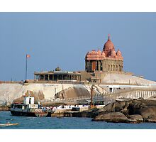 Swami Vivekananda Memorial, India Photographic Print