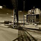 Haunted Train Yard by Richard Barker