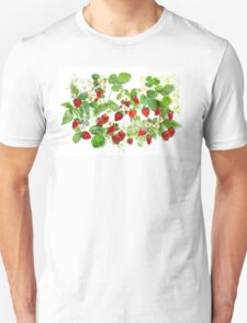 Ripe Strawberries from Provence Unisex T-Shirt