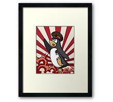 Soviet Penguin Framed Print