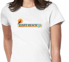 Jones Beach - Long Island. Womens Fitted T-Shirt